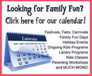 Fun 4 suncoast Kids calendar